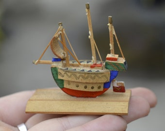 Doll House Miniature Ship Model