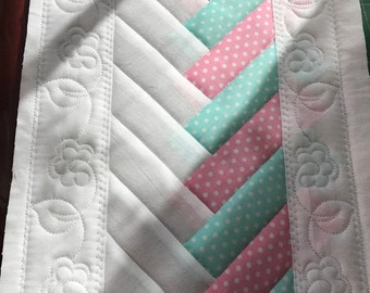 IN THE HOOP french braid embroidery quilt block 3 diff sizes ( 7x8     7x12   8x14)includes full colour pictures