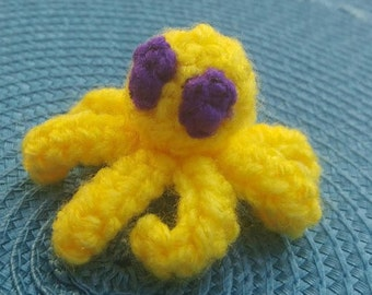Tiny Crochet Octopus