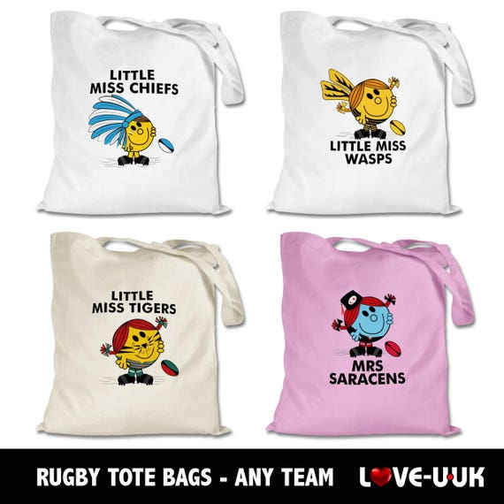 Rugby Tote Bags (Any Team)