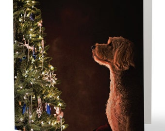 Goldendoodle Christmas cards - set of 10