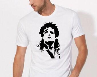 Michael Jackson Shirt Mens Michael Jackson t Shirt womens Michael Jackson Top Michael Jackson tee Shirt Michael Jackson tshirt dress clothes