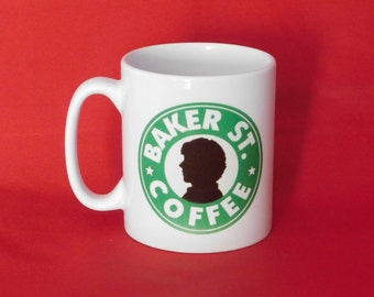 Sherlock Benedict Cumberbatch Starbucks Inspired Coffee Mug 10oz