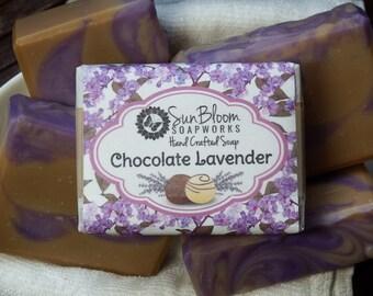 Chocolate Lavender Soap
