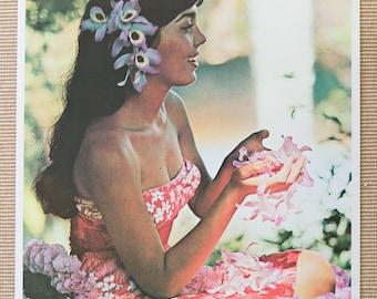 Original Hawaii Travel Poster