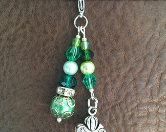 Carriage Planner Charm (Green)