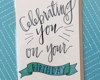 Celebrating You on Your Birthday