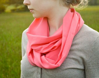 Infinity Scarf | Rayon Scarf | Lightweight Scarf