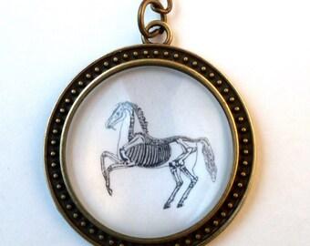 "Key fob ""Horse skeleton"""