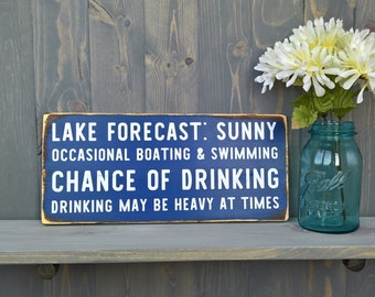 Lake house decor - fathers day gifts - Presents for dad - Farmhouse decor - Humor - Farmhouse decor - Lake House - Rustic wood signs