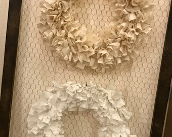Simply Stated {Rag Wreath}