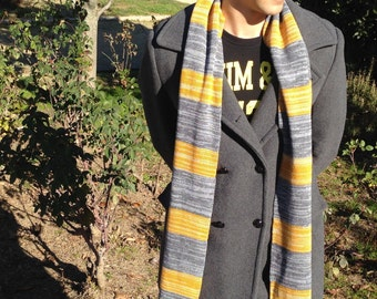Newt Scamander Scarf/Vintage Hufflepuff Scarf//Fantastic Beasts and Where to Find Them/Harry Potter