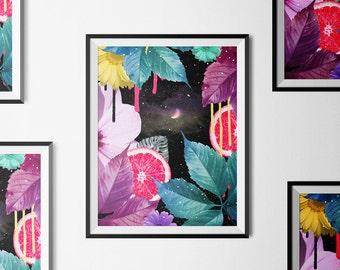 botanical prints, floral print, tropical print, prints of flowers, botanical posters, fern prints, tropical leaf, leaf print, floral wall ar