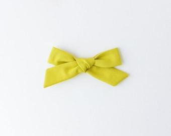 Apple Amelia Hand Tied Bows, Hair Clip, Hair Bow, Toddler Bows, Hair Clips, Girl Hair Bow, Hair Accessories