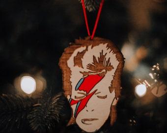 David Bowie Aladdin Sane Rear View Ornament