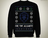 For the Alliance! - SWEATER / Ugly Sweater