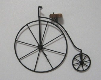 "Vintage Bicycle, Replica, Wall Hanging, 13.5"" x 11.5"""