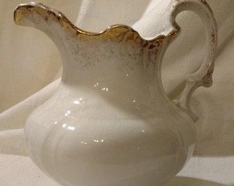 Vintage Crown Potteries Pitcher