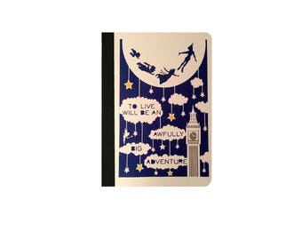 IPad 2 case,IPad 3 Case, Ipad 4 Case Ipad Air/Air 2 Case Ipad Pro 9.7/12.9 Faux Leather Case Flying Peter Pan And Wendy Art Silhouette Case