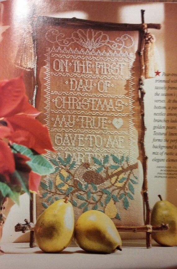 Better Homes And Gardens Cross Stitch Christmas Special