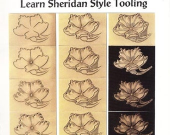 Learn Sheridan Style Leather Tooling by Chan Geer (Leathercraft Book) [DIGITAL DOWNLOAD]