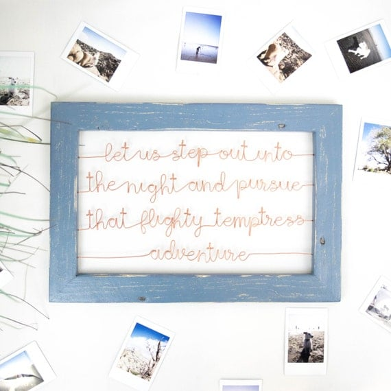 Step Into The Light And Let It Go: Harry Potter Let Us Step Out Into The Night Framed