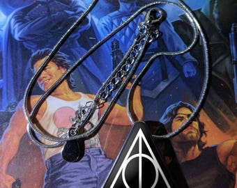 Harry Potter Deathly Hallows Pendant and necklace