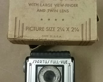 Vintage Spartus Old Box Camera from 1950's-60's