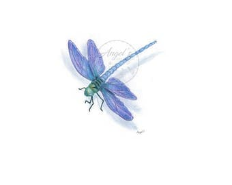 Dreamy Dragonfly Print
