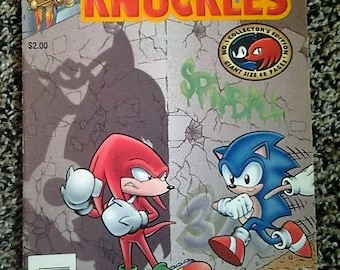 Sonic & knuckles issue 1//1995//archie comics//fine/very fine condition//collectors edition