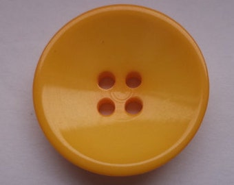 12 buttons yellow orange 21mm (4447)