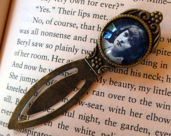 Katherine Mansfield Bookmark - New Zealand Author Bookmark, Katherine Mansfield Gift, Poetry Bookmark, Literary Gift, Library Bookmark