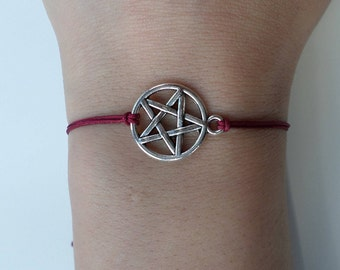 Pentagram Bracelet - various colours!