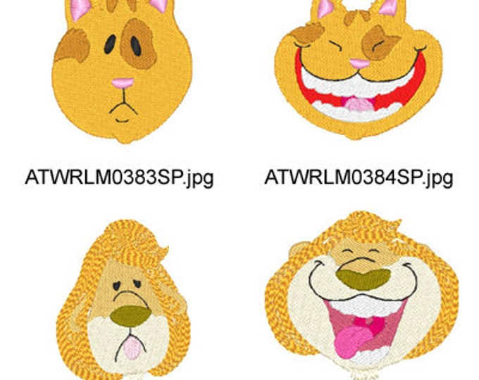 Smile-Gloves ( 12 Machine Embroidery Designs from ATW ) XYZ17D