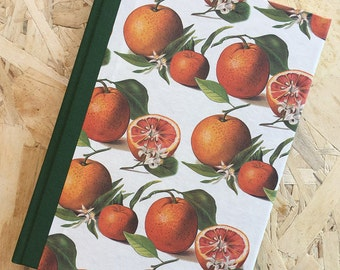 Cookbook, cookbook, 7 categories, ivory paper, hand-bound