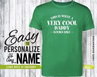 Daddy gift, daddy, family, family shirt, birthday shirt, birthday gift, personalized gift, tshirt, shirt, birthday, family tree, 40s, 50s