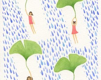 The Storm - Art Print