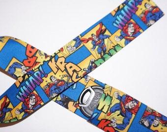 Superman camera strap cover
