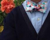 Bright Geometric Bow Tie