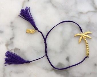 Tassel coconut tree bracelet