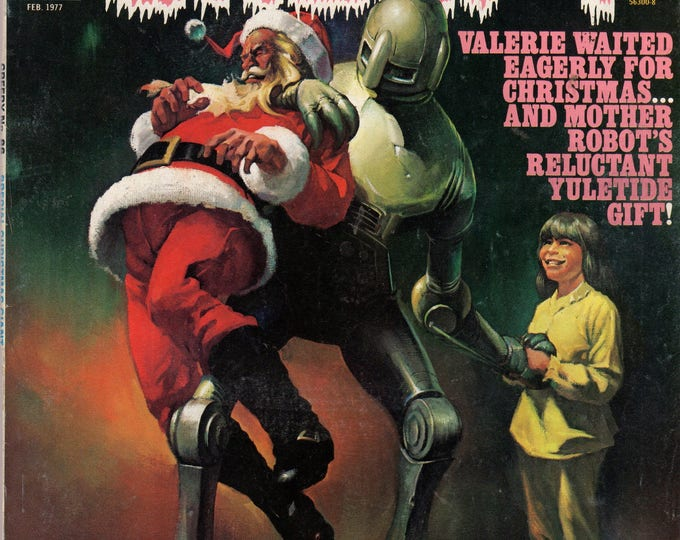 CREEPY #86 FEB 1977 Warren Publishing - Giant Christmas Special Issue!