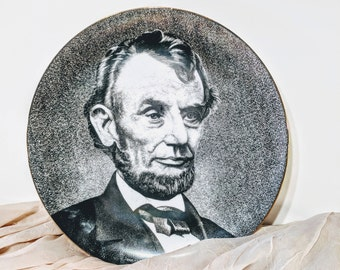 Gettysburg Address collectors plate/ Gettysburg Address plate/ Gettysburg Address/ Abraham Lincoln collectors plate/ Abraham Lincoln