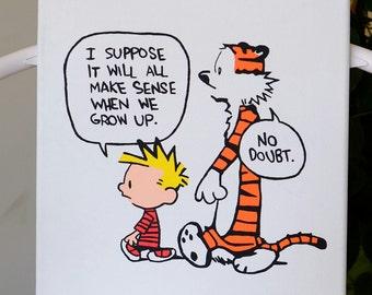 Calvin & Hobbes (Growing Up)