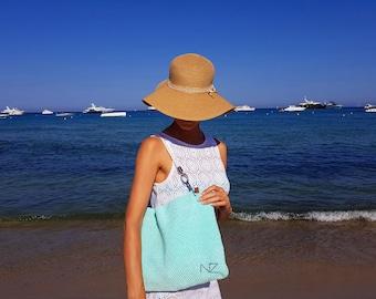 Tote bag Diaper bag Big bag Beach Crocket cover up bag Weekender bag Beach bag Hobo bag Large bag Boho bag Summer bag