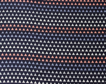 Coraline Triangle Gradient by Camelot Fabrics - Navy Multi - Sold by the yard