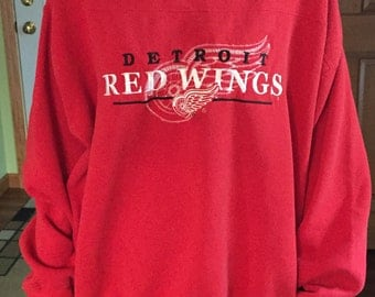 Vintage Detroit RED WINGS crewneck sweatshirt