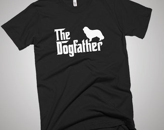 Cavalier King Charles Spaniel DogFather T-Shirt