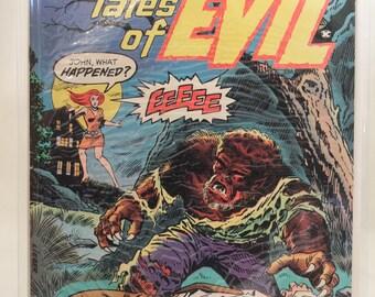 "Tales of Evil #1 (Feb. 1975). Atlas Comics. ""Spawn of the Devil"""