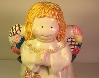 Cookie jar Christmas around the world, ceramic cookie jar