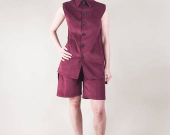 Ruby Cord Sleeveless Tunic